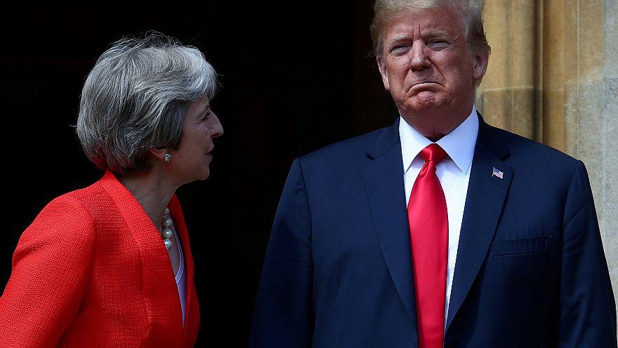 Trump critica diretamente a estratégia de May para o Brexit