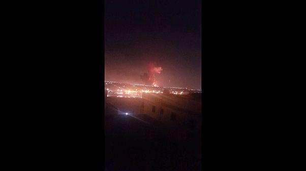 إصابة 12 في انفجار بمصنع بالقرب من مطار القاهرة