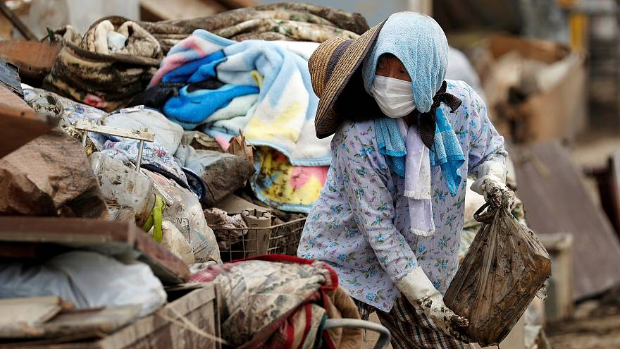 Record downpour kills 200 in Japan