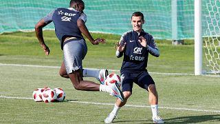 Francia y Croacia se preparan para la gran final