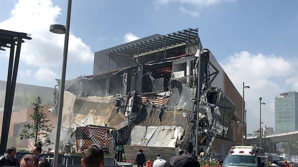 Összeomlott egy bevásárlóközpont Mexikóban