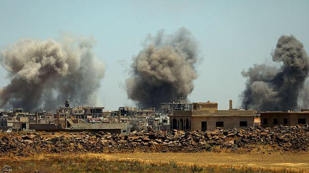 ۲۸ غیرنظامی در حمله هوایی به شرق سوریه کشته شدند