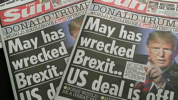 """Que impacto esperar da entrevista de Trump ao """"The Sun""""?"""