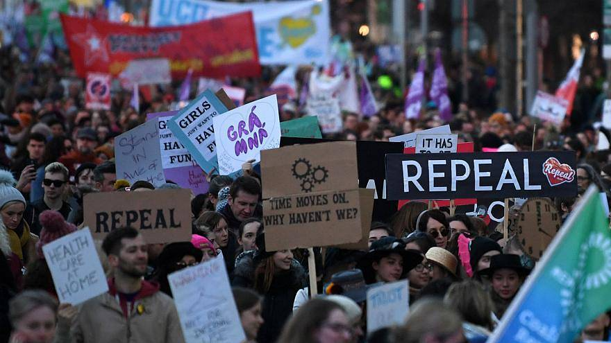 Irish people voted overwhelmingly to liberalise abortion laws in May 2018