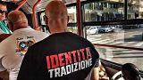 Olasz és lengyel fasiszták járőröztek Riminiben