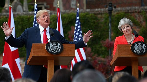 Watch again: Trump and May tout 'special relationship' in joint press conference