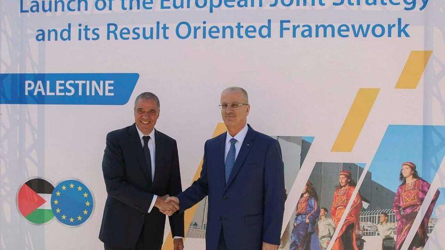 """ما هي الاستراتيجية الأوروبية المُشتركة لدعم فلسطين """" 2017 -2020""""؟"""