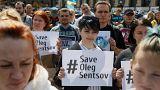 Pression sur Macron pour obtenir la libération d'Oleg Sentsov
