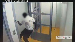 Un policier français suspendu pour violences
