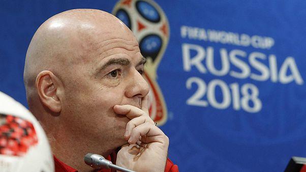 جیانی اینفانتینو، رئیس فدراسیون جهانی فوتبال