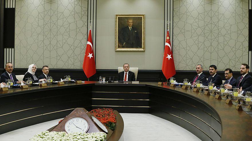 Türkiye'nin ilk Cumhurbaşkanlığı Hükümet Sistemi Kabine Toplantısı başladı