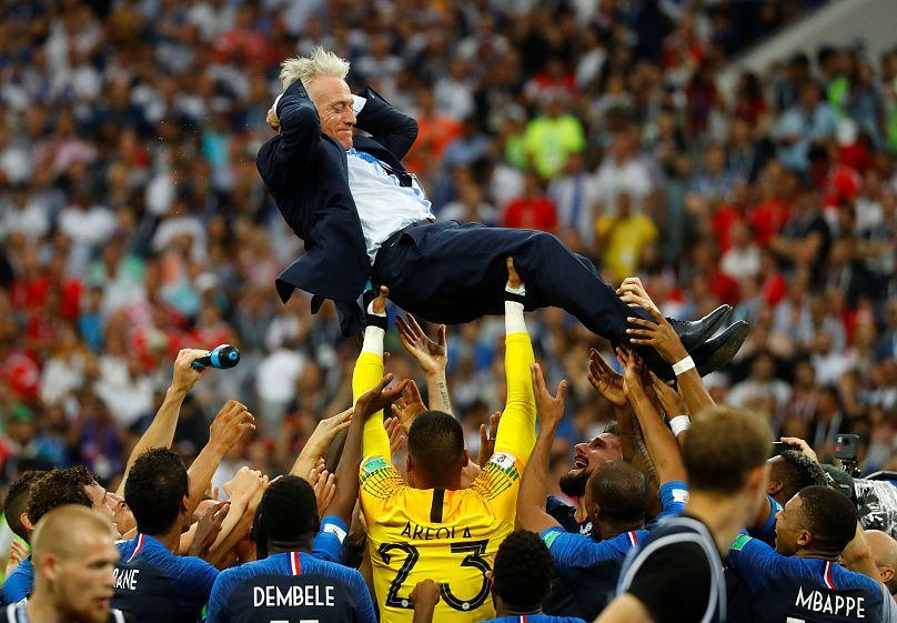 Hırvatistan'ı 4-2 yenen Fransa 2018 Dünya Kupası Şampiyonu