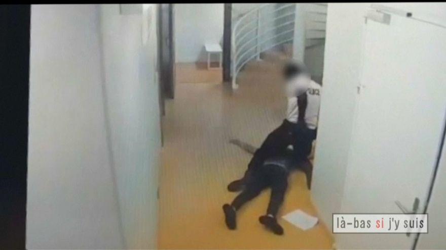 Francia: poliziotti violenti