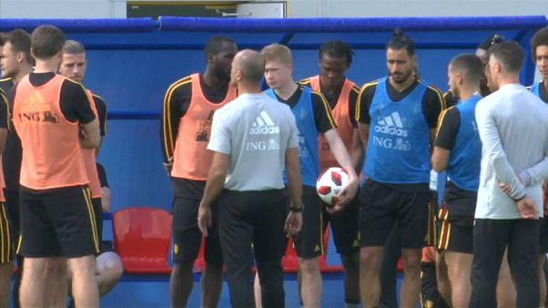 Inglaterra contra Bélgica en la 'final de consolocación' del Mundial