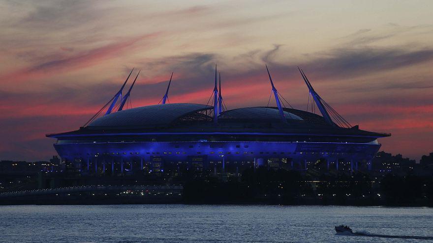 Стадион в Санкт-Петербурге, где состоится матч
