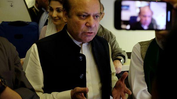 Pakistan eski başbakanı Şerif ülkeye geri dönüşünün ardından tutuklandı