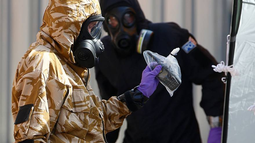 """La police britannique trouve """"une petite bouteille"""" contenant du Novitchok"""
