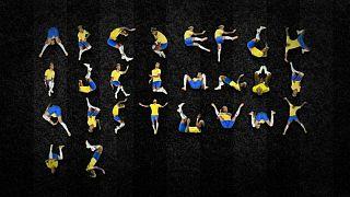 Neymar'ın abartılı hareketlerinden A'dan Z'ye alfabe yaptılar