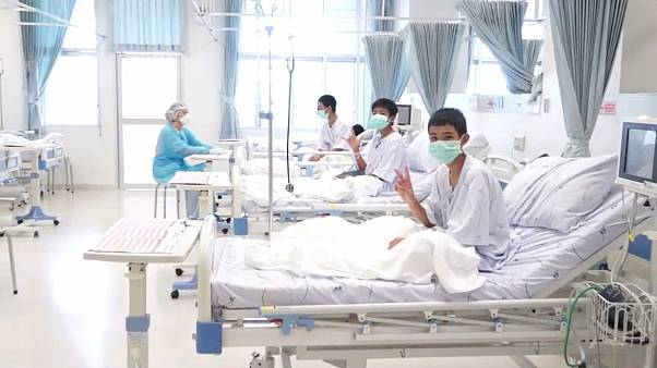 Boys rescued from Thai cave to be discharged from hospital next week