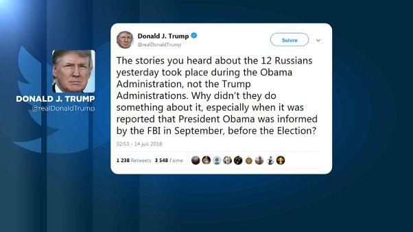 """""""Isso foi durante a administração Obama, não durante a minha!"""""""