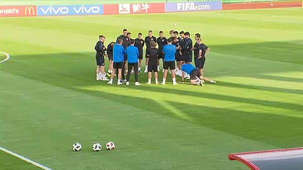 Los croatas se preparan para disputar el 'partido de sus vidas'