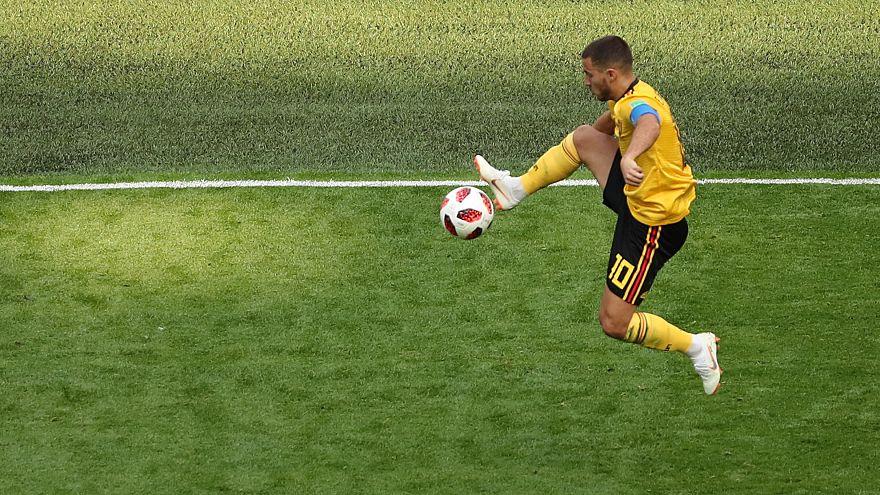 كأس العالم 2018: الشياطين الحمر يوقعون الهدف الثاني أمام إنجلترا بواسطة المايسترو هازارد