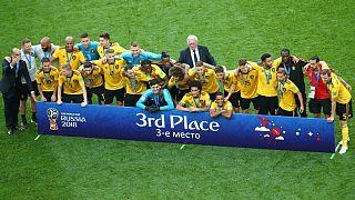 جام جهانی فوتبال؛ بلژیک با شکست انگلیس سوم شد