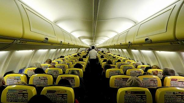 Ryanair plane makes emergency landing after descending 27,000 ft in seven minutes