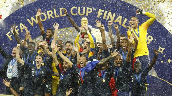 Francia campione del mondo, Croazia battuta 4 a 2
