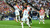 كأس العالم 2018: المنتخب الفرنسي يسجل الهدف الأول أمام كرواتيا عن طريق مانزوكيتش ضد مرماه