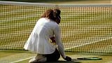 Wimbledon: male Serena Williams, Djokovic in finale