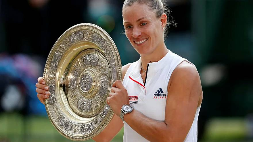 La alemana Kerber conquista Wimbledon por primera vez