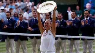 Erste deutsche Wimbledon-Siegerin seit 1996: Angelique Kerber