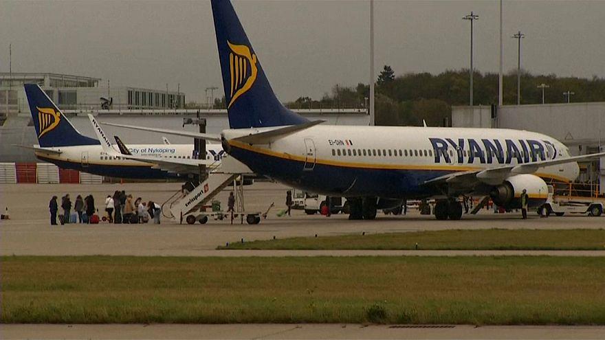 Más de treinta heridos tras perder presión un avión de Ryanair