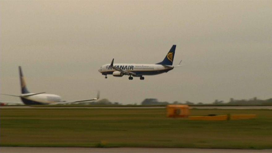 Atterrissage d'urgence d'un vol Ryanair
