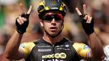 Tour de France: Dylan Groenewegen doubles up on stage eight