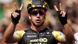 Tour de France: Dylan Groenewegen doubles up on stage eight