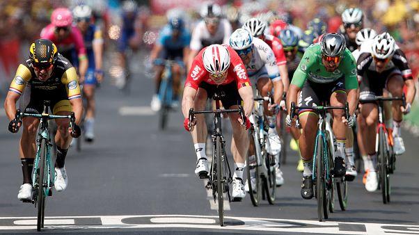 Tour de France : Dylan Groenewegen remporte la huitième étape
