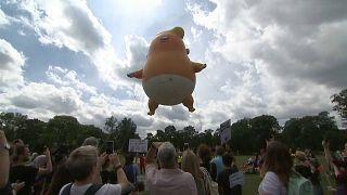 Trump: Schotten-Proteste holen ihn beim Golfen ein