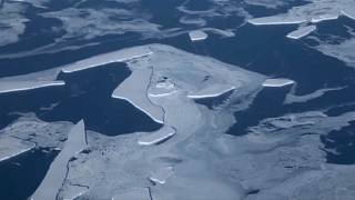 الانزلاق الجليدي أدى إلى تشكل موجات عالية
