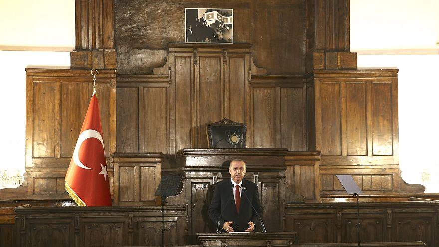 Cumhurbaşkanlığı Kabinesi 1. Toplantısı Açılış Töreni'nde Erdoğan