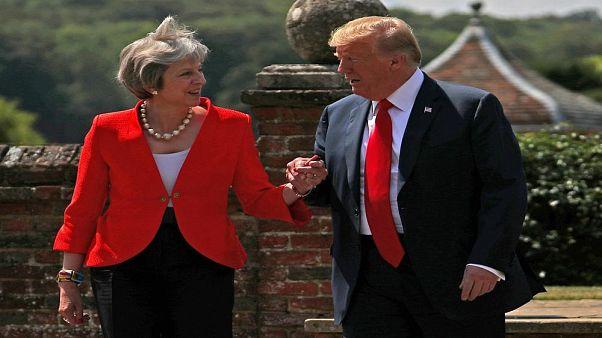 """Trump'tan May'e Brexit tavsiyesi: """"AB'yi dava edin"""""""