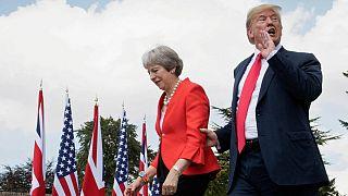 توصیه ترامپ به می: از اتحادیه اروپا شکایت کن