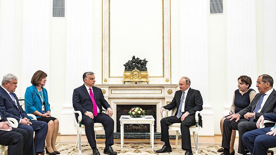 Soron kívüli Putyin-Orbán találkozó Moszkvában