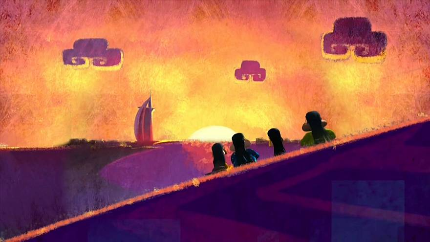 'Freej' cartoon animates the Middle East with feisty Emirati characters