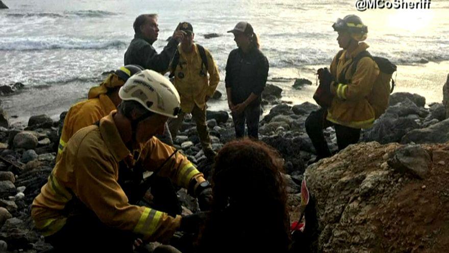 شاهد: إمرأة تظل على قيد الحياة أسبوعا بشرب الماء من رادياتير سيارتها بعد حادث