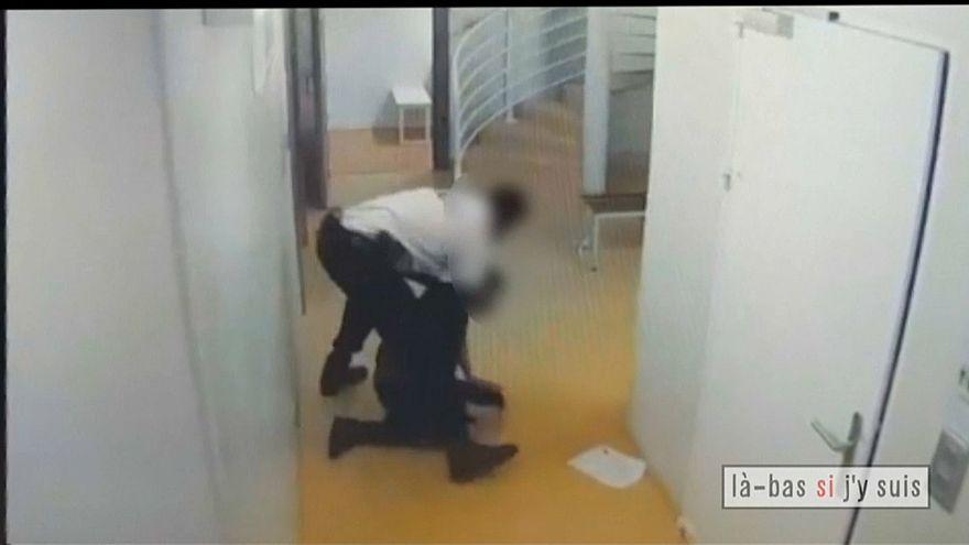 صورة من الفيديو المسرب