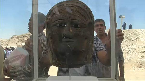 Egyedülálló maszk-leletre bukkantak Kairótól délre