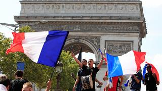 World Cup: Euphoria is in the air for French and Croatian fans