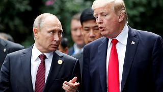 """Trump's """"low expectations"""" for Putin summit"""